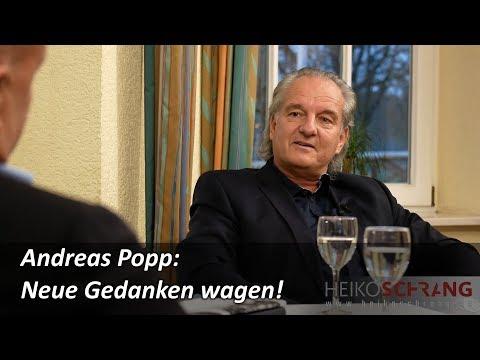 Andreas Popp: Neue Gedanken wagen! Interview von SchrangTV