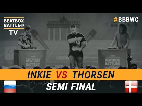 Inkie vs Blu Lipy - Loop Station Semi Final - 5th Beatbox Battle World Championship