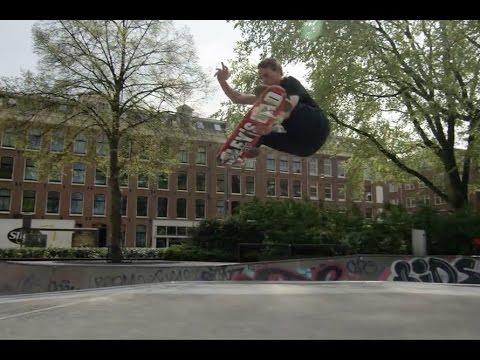 Tony Hawk Skateboarding Marnix Bowl Amsterdam 2017 4/20