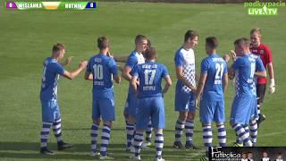 4 liga małopolska na żywo: Wiślanka Grabie - Hutnik Kraków (9.09.2017)