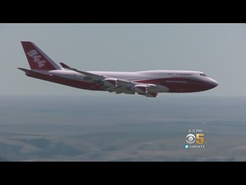 Cal Fire Repurposes Retired 747 as Global Supertanker