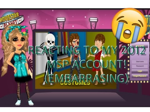 Reacting to my Old 2012 MSP Account!! (Embarrassing and cringey xc)