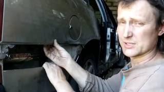 Кузовной ремонт: задние крылья и арки часть 1