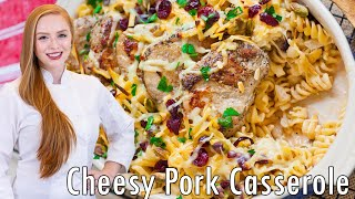 Cranberry Pistachio Pork Casserole
