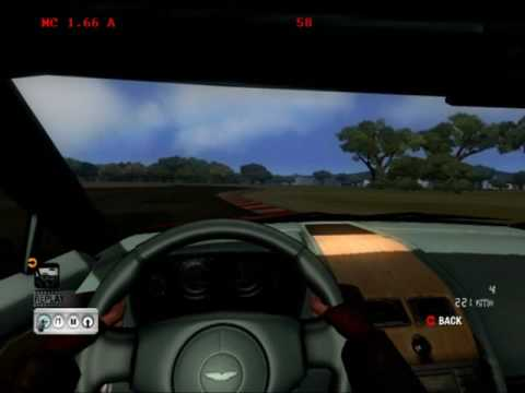 Test Drive Unlimited - Aston Martin V8 Vantage (2005) - Performance Guide evaluation