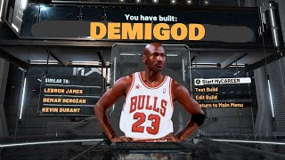 NEW MOST OVERPOWERED BUILD ON NBA 2K20! BEST DEMIGOD BUILD AS OF *PATCH 12*!