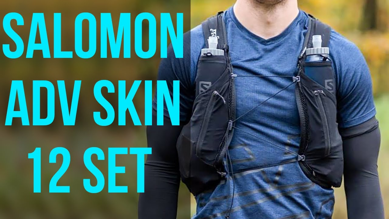 Salomon Adv Skin 12 Set Running Vest Review Mine Broke But I Still Love It Youtube
