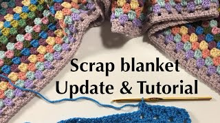 Ophelia Talks about her Scrap Blanket and Pattern