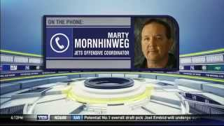 Marty Mornhinweg previews the New York Jets' 2014 offense - The Michael Kay Show
