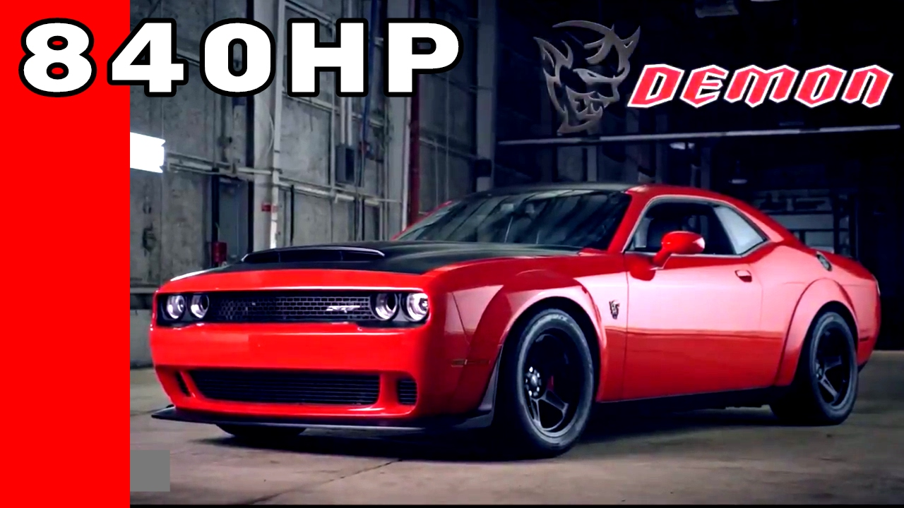 2018 chrysler demon. Exellent 2018 2018 Dodge Challenger SRT Demon On Chrysler Demon D