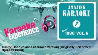 Amazing Karaoke - Gimme Hope Jo