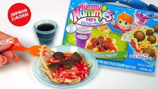 Spaghetti z klopsikami z proszku!  Yummy Nummies - JAPANA zjadam #134| Agnieszka Grzelak Vlog
