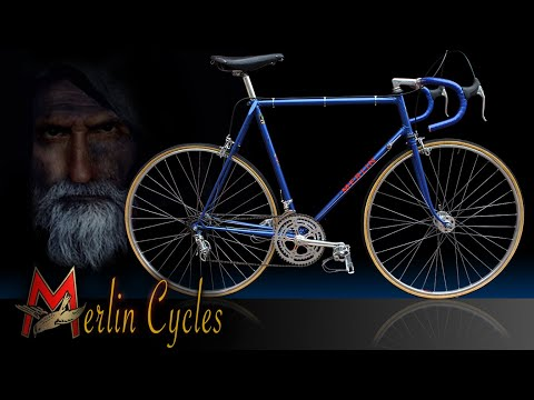 Classic Merlin Bicycle Restoration thumbnail