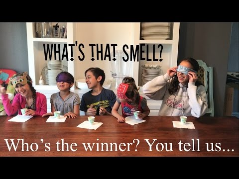 What's that smell challenge? Smell it or Taste it Challenge!!!