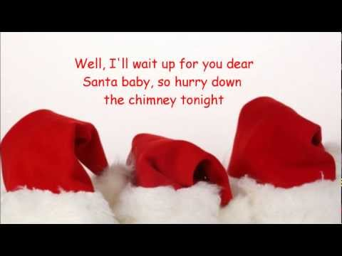 Santa Baby Taylor Swift lyrics