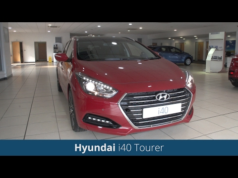 Hyundai i40 Tourer 2016 Review