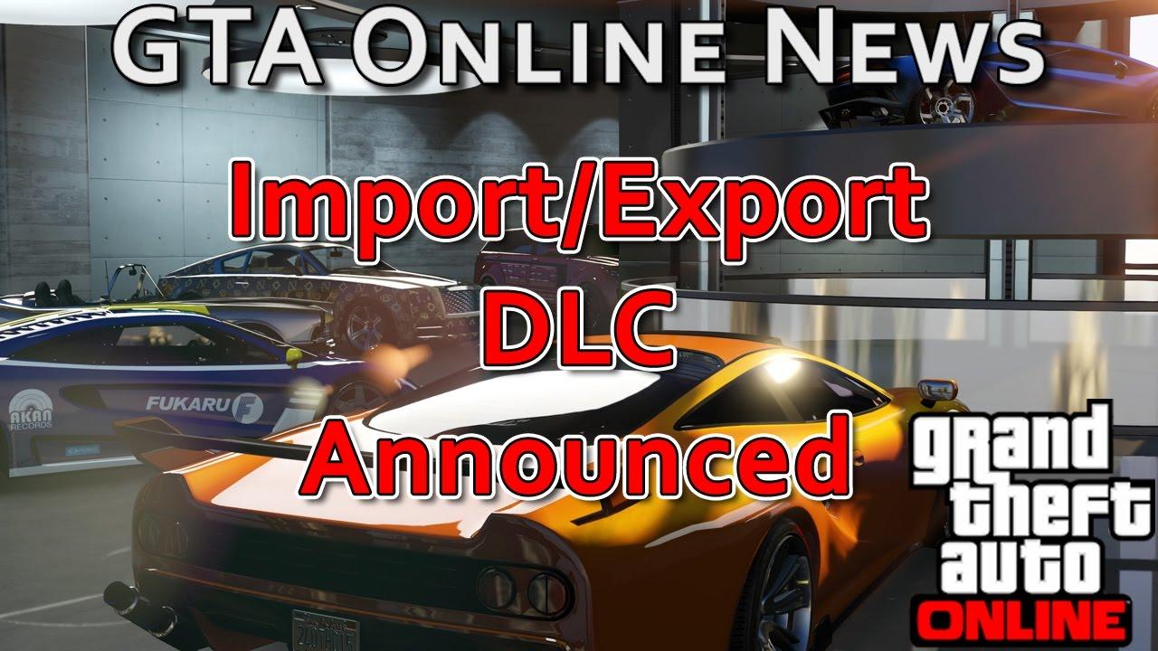 Gta Online Import Export