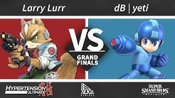 Hypertension Ultimate Top 8 - dB | Yeti (Snake, Megaman) vs Larry Lurr (Fox)