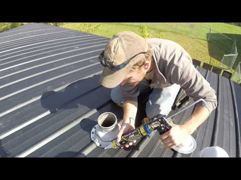 HOW TO INSTALL A METAL ROOF BOOT