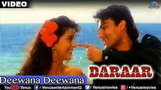 Download Video Deewana Deewana Full Video Song : Daraar | Rishi Kapoor, Juhi Chawla, Arbaaz Khan | MP3 3GP MP4