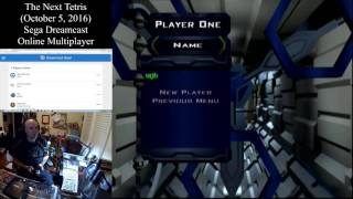 The Next Tetris (October 5, 2016) Sega Dreamcast Online Multiplayer [w/ Commentary]
