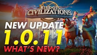 Rise of Civilizations Live - Update 1.0.11 what's new ? Talent 2.0 New alliance Update.