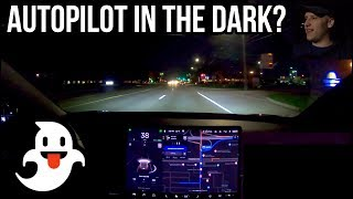 Can Autopilot Drive Me Home in the Dark? | TESLA CHALLENGE #9 | Night Time Navigate on AP | Model 3