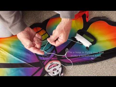 Agreatlife Butterfly Rainbow Butterfly Kite Assembly Instructions