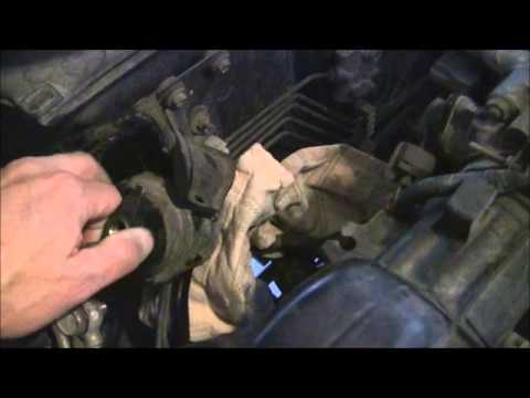 honda crv fuel filter replacement youtube. Black Bedroom Furniture Sets. Home Design Ideas