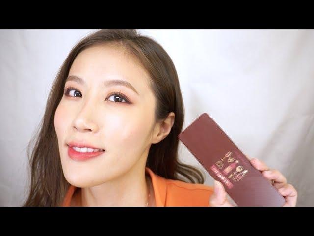 Celeste Wu 大沛 |Etude House紅酒眼影盤心得&妝容分享