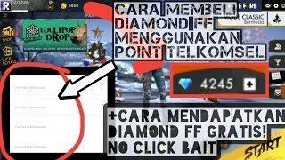 Cara Beli DM FF Pake Point Telkomsel | Dan Cara Dapetin Diamond FF Gratis|No ClickBait