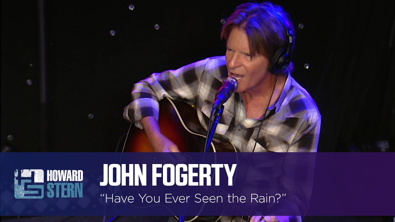 "John Fogerty ""Have You Ever Seen the Rain"" on the Stern Show (2015)"