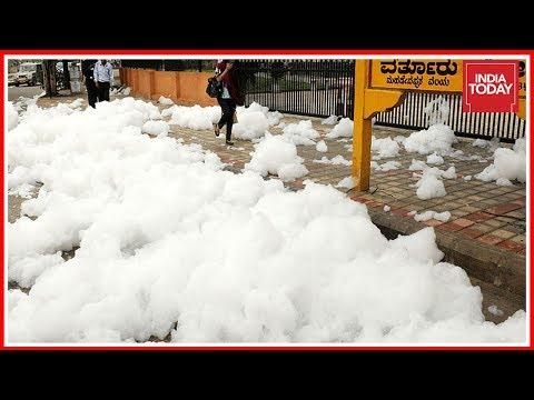 Bangalore Toxic Lakes: Varthur Lake After Rain