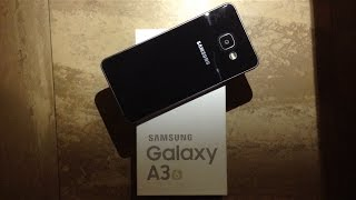 samsung galaxy a3 2016 unboxing