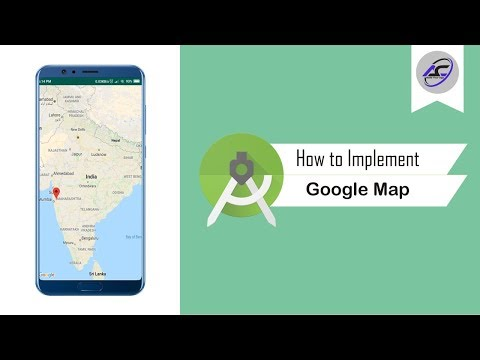 How To Implement Google Map In Android Studio | GoogleMap | Android Coding