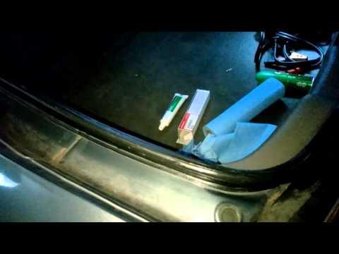 05 Acura RSX - Weather seals Shin Etsu Grease  Pt 1