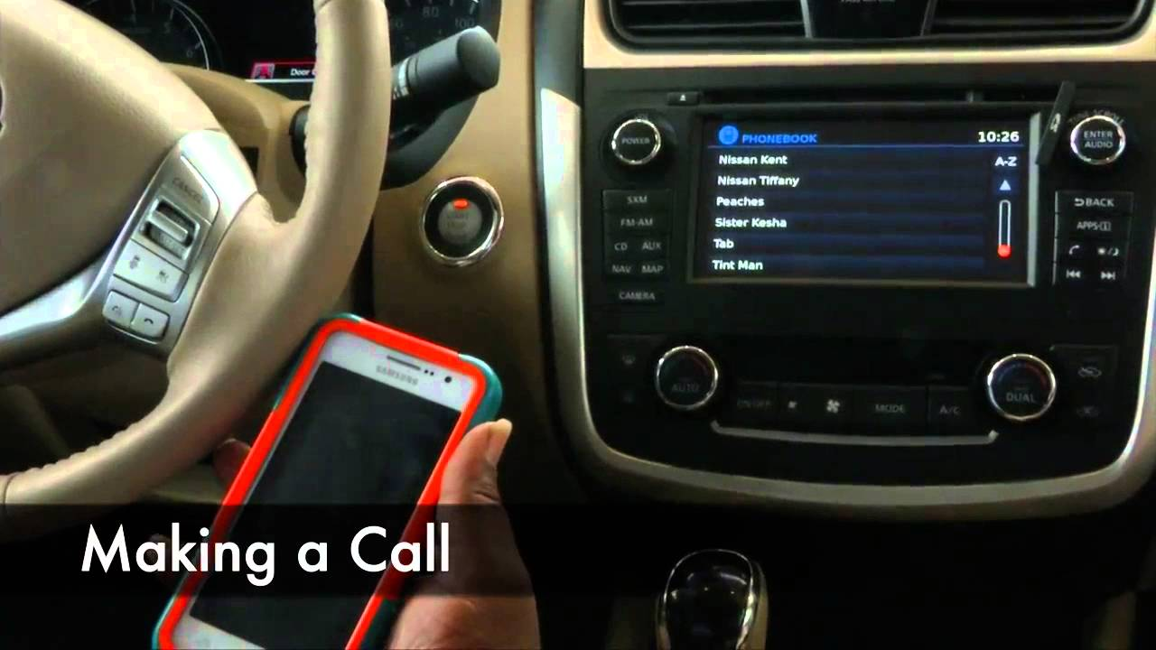How To Set Up The Bluetooth On 2016 Nissan Altima