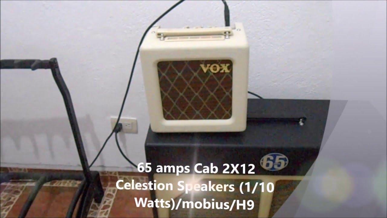 Vox AC4TV Speaker Comparison - YouTube