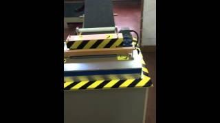 Felt cutting machine keçe kesme makinesi