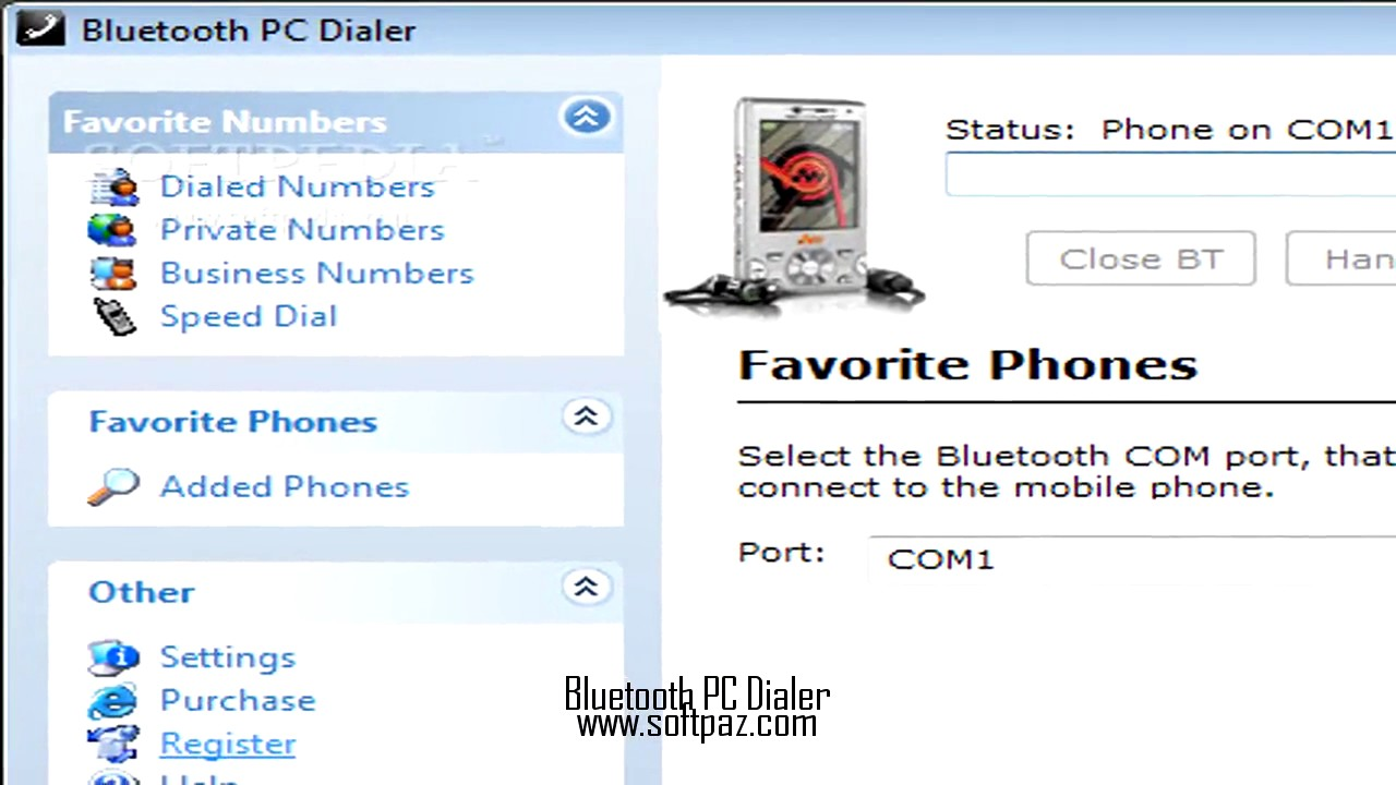 bluetooth pc dialer 3.1