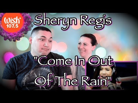 "Sheryn Regis sings ""Come In Out Of The Rain"" LIVE on Wish 107.5 Bus REACTION"