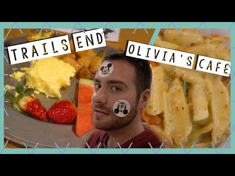 Trails End Breakfast, Olivia's Cafe Dinner Review & Old Key West | Disney World Vlog January 2018