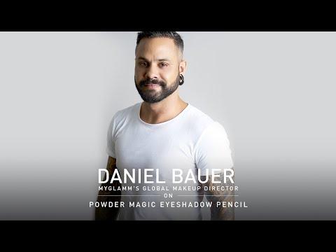 DANIEL BAUER | POWDER MAGIC EYESHADOW | MYGLAMM