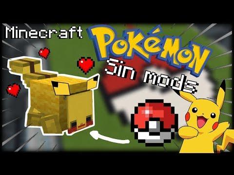 Pikachu! De Mascota Sin Mods! TUTORIAL EN MINECRAFT POCKET EDITION ,SALUDOS!!