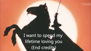 The Mask of Zorro [13] I want to spend my lifetime loving you (end credits)