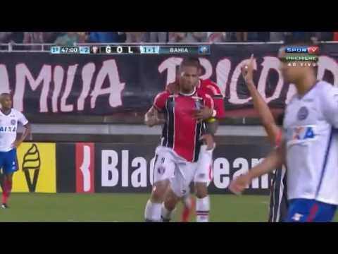 Joinville 1 x 1 Bahia   Gols de Edigar Junior e Jael   30/8/2016