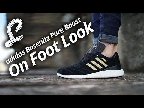 621580931 adidas Busenitz Pure Boost On Foot Video