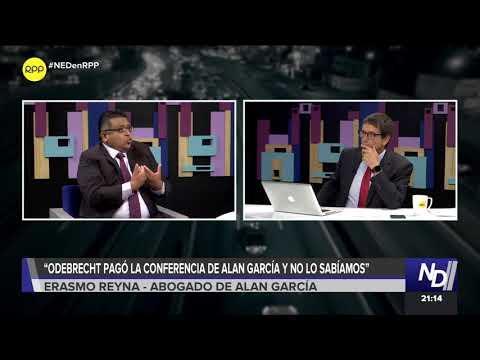 Nada Está Dicho   Abogado de Alan García: 'Odebrecht pagó la confernecia y no lo sabíamos'