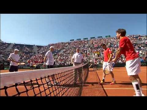 Davis Cup Highlights: Spain 3-1 USA