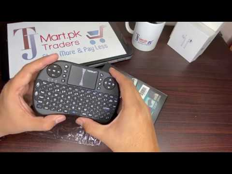 Mini Wireless Keyboard 'Best For Android Box & Smart TV'